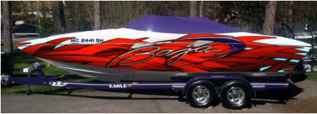 boat wrap Mississauga ON